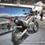 Honda CRF 250 Rally exhaust swingarm tyre at Tokyo Motor Show
