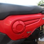 Honda Cliq Review left body panel closeup