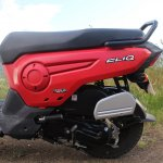 Honda Cliq Review left bodywork
