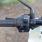 Honda Cliq Review left switchgear