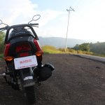 Honda Cliq Review rear