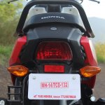 Honda Cliq Review tail light