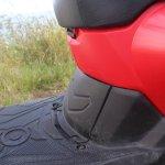 Honda Cliq Review underseat panel