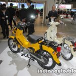 Honda Cross Cub 110 rear three quarters at 2017 Tokyo Motor Show