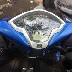 Honda Grazia spied instrument cluster