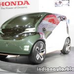 Honda NeuV concept front three quarters left side at 2017 Tokyo Motor Show