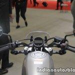 Honda Rebel 250 dashboard handlebar mirror at the Tokyo Motor Show