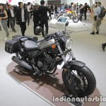 Honda Rebel 250 front three quarters left at the Tokyo Motor Show