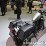 Honda Rebel 250 saddlebags rear three quarters at the Tokyo Motor Show