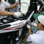 Honda Revo X White factory shot closeup