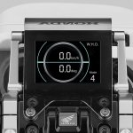 Honda Riding Assist-e Concept instrument cluster