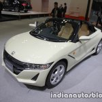 Honda S660 #komorebi edition front three quarters at the Tokyo Motor Show