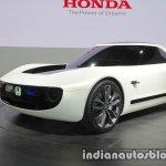 Honda Sports EV Concept front three quarters at 2017 Tokyo Motor Show