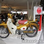 Honda Super Cub 110 Commemorative Edition profile at 2017 Tokyo Motor Show