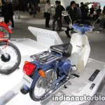Honda Super Cub 50 rear three quarters
