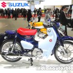 Honda Super Cub C125 profile at 2017 Tokyo Motor Show