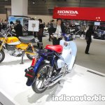 Honda Super Cub C125 rear three quarters at 2017 Tokyo Motor Show