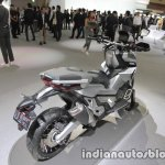Honda X-Adv exhaust at the 2017 Tokyo Motor Show