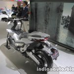 Honda X-Adv seat rear three quarters at the 2017 Tokyo Motor Show