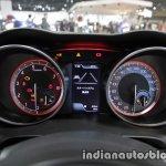 Suzuki Swift Sport instrument binnacle at 2017 Tokyo Motor Show
