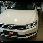 India-spec 2017 VW Passat front at dealership