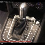 India-spec 2017 VW Passat gear selector at dealership