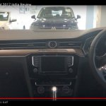 India-spec 2017 VW Passat interior at dealership