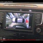 India-spec 2017 VW Passat touchscreen at dealership