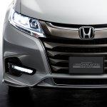 JDM-spec 2018 Honda Odyssey (facelift) front fascia