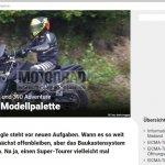 KTM 390 Adventure spied in Austria left side