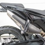 KTM 790 Duke pre production prototype exhaust