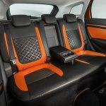 Lada Vesta SW Cross rear seats