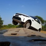 Land Rover Discovery action shot