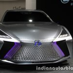 Lexus LS+ Concept at the 2017 Tokyo Motor Show front angle view