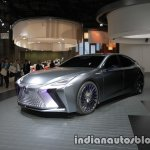 Lexus LS+ Concept at the 2017 Tokyo Motor Show left front three quarters