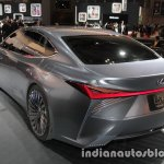 Lexus LS+ Concept at the 2017 Tokyo Motor Show left rear three quarters