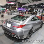 Lexus RC F 10th anniversary edition rear three quarters right side at 2017 Tokyo Motor Show