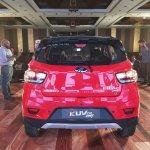 Mahindra KUV100 NXT Red & Black rear