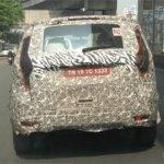 Mahindra U321 MPV spy pictures rear