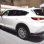 Mazda CX-8 rear three quarters at 2017 Tokyo Motor Show
