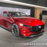 Mazda Kai Concept front three quarters at 2017 Tokyo Motor Show