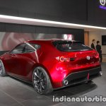 Mazda Kai Concept rear three quarters left side at 2017 Tokyo Motor Show