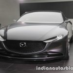 Mazda Vision Coupe concept front three quarters at 2017 Tokyo Motor Show