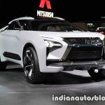 Mitsubishi e-Evolution concept 2017 Tokyo Motor Show front three quarters
