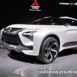 Mitsubishi e-Evolution concept 2017 Tokyo Motor Show side angle