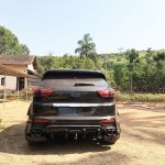 Modified Hyundai Creta Black Devil rear