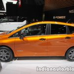 Nissan Note e-Power left side at 2017 Tokyo Motor Show