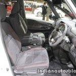 Nissan Serena Nismo front seats at the Tokyo Motor Show