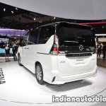 Nissan Serena e-Power at 2017 Tokyo Motor Show left rear three quarters