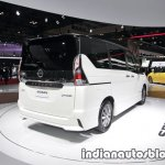 Nissan Serena e-Power at 2017 Tokyo Motor Show right rear three quarters